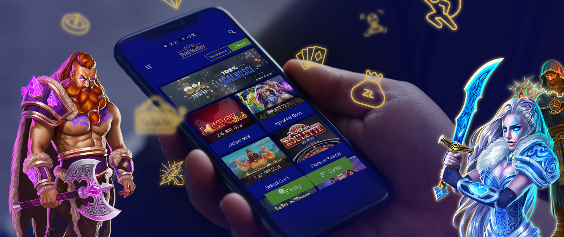 Aplikacja Total Casino Android iOS