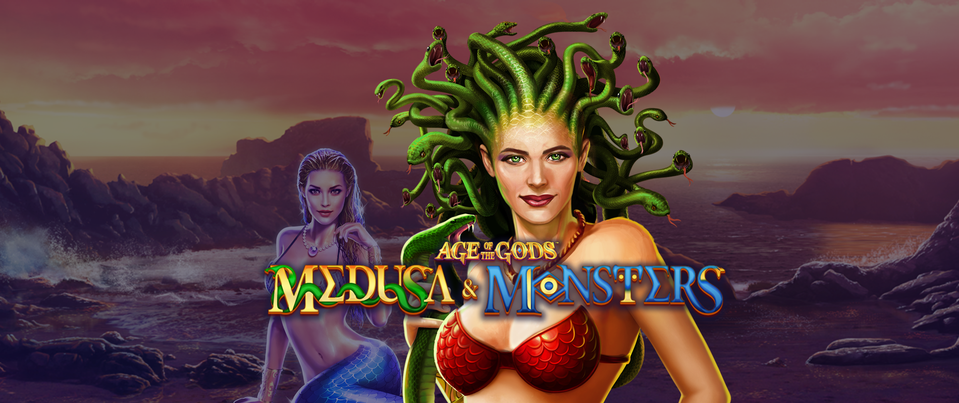 Nowe Gry Age of the Gods Medusa & Monsters