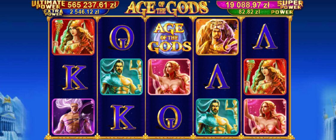 Age of the Gods   Total Casino