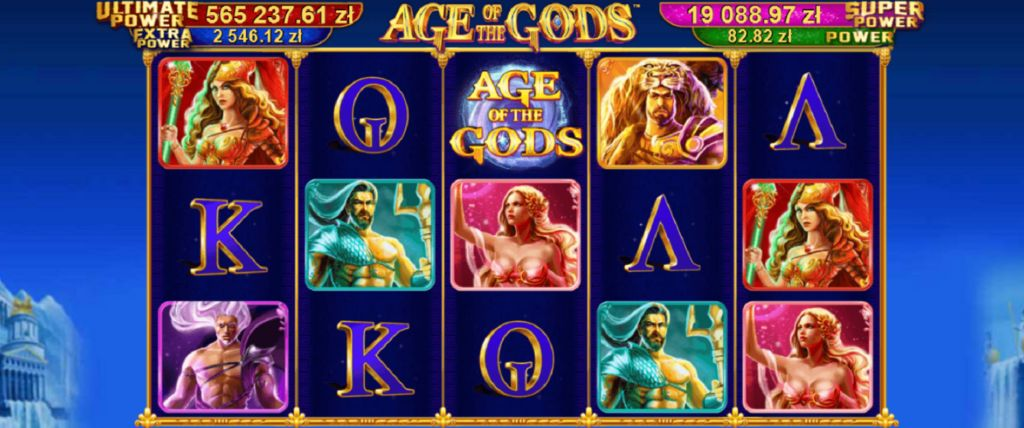 Age of the Gods | Total Casino